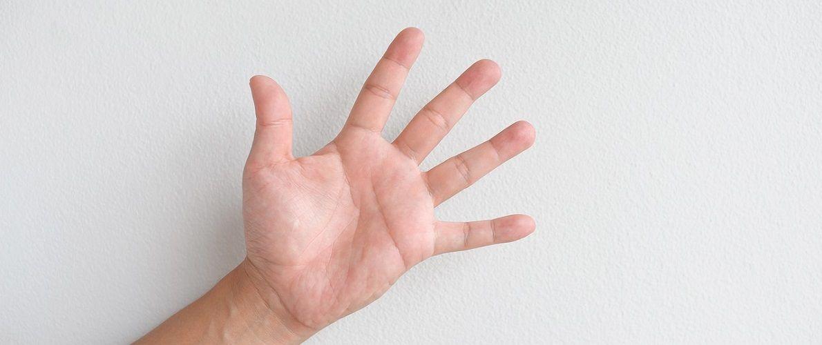 pocení rukou